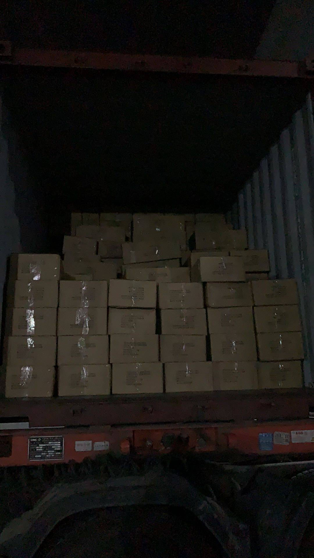 韩国和日本客户集装箱整柜发货啦(图9)