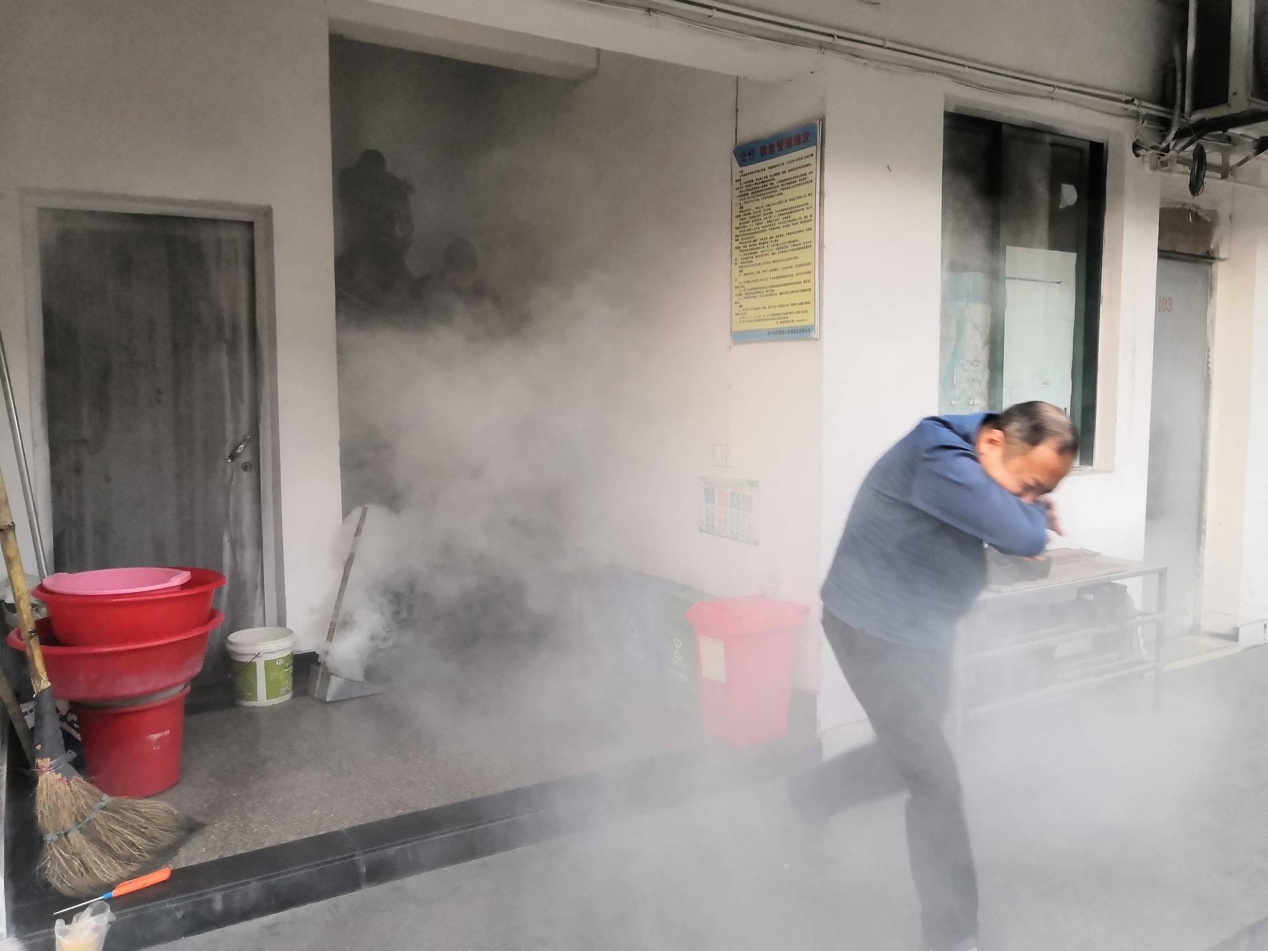 公司组织开展安全生产消防演练(图12)
